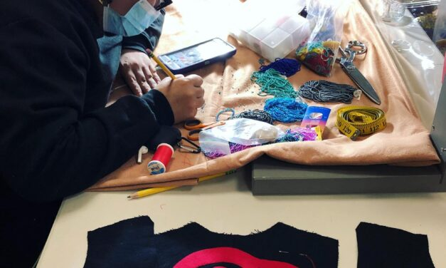 Regalia Making Class 3 with Artist-in-Residence Pamela Johnson (Tlingit)