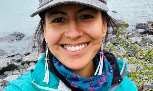 Welcome Artist-in-Residence Danielle Stickman (Dena'ina & Koyokon Athabascan)