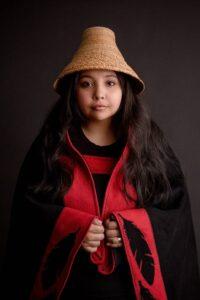 Stacey Williams, Tlingit Weaver @ Sheldon Jackson Museum | Sitka | Alaska | United States